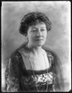 Mabel Terry-Lewis, by Bassano Ltd - NPG x101066