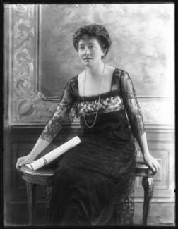 Mabel Terry-Lewis, by Bassano Ltd - NPG x101068