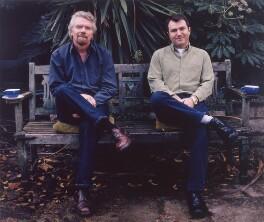 Sir Richard Branson; Will Whitehorn, by Tom Miller, 3 December 2001 - NPG x125414 - © National Portrait Gallery, London