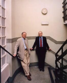 Ken Livingstone; Bob Kiley, by Tom Miller - NPG x125418