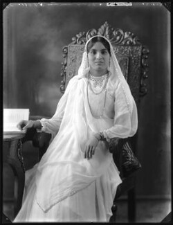 Anees Fatimah (née Karim), Lady Imam, by Bassano Ltd - NPG x120769
