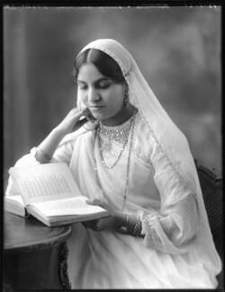 Anees Fatimah (née Karim), Lady Imam, by Bassano Ltd - NPG x120770