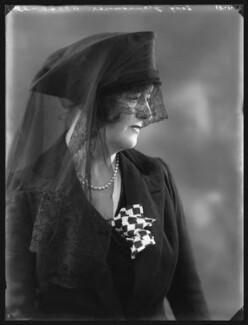 Pamela Grey (née Wyndham, later Lady Glenconner), Viscountess Grey of Fallodon, by Bassano Ltd - NPG x36652