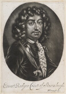 Ernst Rudiger, Count von Staremberg, published by Pierce Tempest - NPG D11975