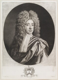 Sir John Crispe, 3rd Bt, by John Smith, after  Thomas Hill - NPG D11650