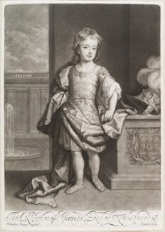 James Cecil, 5th Earl of Salisbury, by and published by John Smith, after  Sir Godfrey Kneller, Bt - NPG D11654