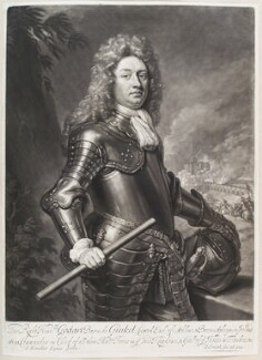 Godard van Reede-Ginckel, 1st Earl of Athlone, by and published by John Smith, after  Sir Godfrey Kneller, Bt, 1692 (1692) - NPG D11656 - © National Portrait Gallery, London