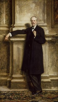 Arthur James Balfour, 1st Earl of Balfour, by John Singer Sargent - NPG 6620