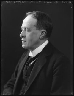 Sir Hugh Fraser, by Bassano Ltd - NPG x120821