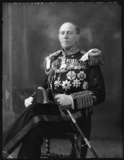 Sir Cecil Burney, 1st Bt, by Bassano Ltd - NPG x120823