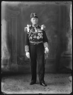 Sir Cecil Burney, 1st Bt, by Bassano Ltd - NPG x120824