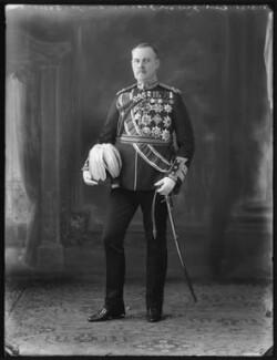 Sir George Mark Watson MacDonogh, by Bassano Ltd - NPG x120826
