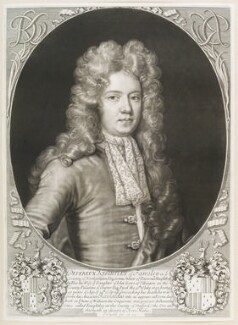 Devereux Knightley, by and published by John Smith, 1697 - NPG  - © National Portrait Gallery, London