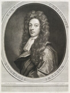 Christopher Walters Stockdale, by and published by John Smith, after  Sir Godfrey Kneller, Bt - NPG D11679