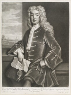 Dudley Woodbridge, by and published by John Smith, after  Sir Godfrey Kneller, Bt, 1718 (1718) - NPG  - © National Portrait Gallery, London