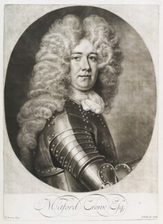 Mitford Crowe, by and published by John Smith, after  Thomas Murray - NPG D11687