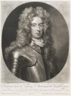 Henry Nassau, Count of Auverquerque, by and published by John Smith, after  Sir Godfrey Kneller, Bt, 1706 - NPG D11701 - © National Portrait Gallery, London