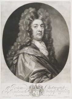 John Chetwynd, by John Smith, after  Sir John Baptist De Medina, 1705 - NPG  - © National Portrait Gallery, London