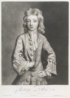 George Petty, by Robert Williams, published by  John Smith, after  Thomas Murray - NPG D11703