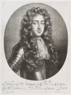 John Cutts, Baron Cutts, by and published by Robert Williams, after  Willem Wissing - NPG D11704