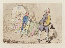 'Polonius', by James Gillray, published by  Hannah Humphrey - NPG D12523