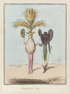 'Parasols, for 1795', by James Gillray, published by  Hannah Humphrey, published 15 June 1795 - NPG  - © National Portrait Gallery, London