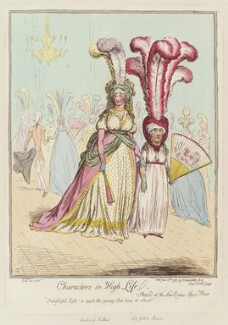 'Characters in high life', by James Gillray, published by  Hannah Humphrey - NPG D12536