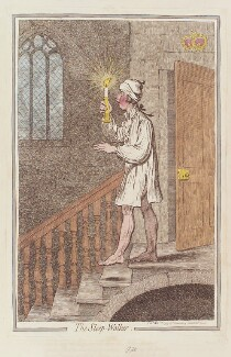 William Pitt ('The sleep-walker'), by James Gillray, published by  Hannah Humphrey, published 1 November 1795 - NPG  - © National Portrait Gallery, London