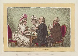 'Two-penny whist', by James Gillray, published by  Hannah Humphrey - NPG D12554