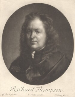Richard Tompson, by Francis Place, published by  John Smith, after  Gilbert Soest - NPG D13190