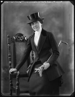 Mabel Terry-Lewis, by Bassano Ltd - NPG x120859