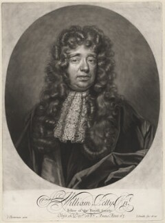 Sir William Petty, by and published by John Smith, after  John Closterman, 1696 - NPG D11978 - © National Portrait Gallery, London