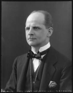 Sir Alec Black, 1st Bt, by Bassano Ltd - NPG x120933