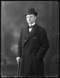 Sir Alec Black, 1st Bt, by Bassano Ltd - NPG x120937