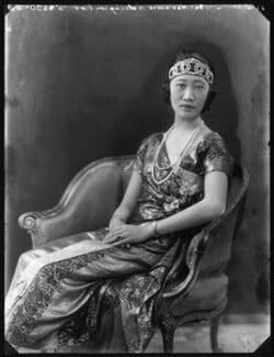 Madame Wellington Koo (née Hui-lan Oei), by Bassano Ltd - NPG x120943