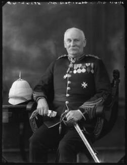 Sir Charles Edward Yate, 1st Bt, by Bassano Ltd - NPG x120946
