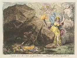 'A peep into the cave of Jacobinism', by James Gillray, published by  John Wright - NPG D12589