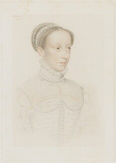Mary, Queen of Scots, by Adolphe Pierre Riffaut, after  François Clouet - NPG D13123