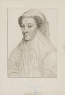 Mary, Queen of Scots, by Francesco Bartolozzi, after  François Clouet - NPG D13124