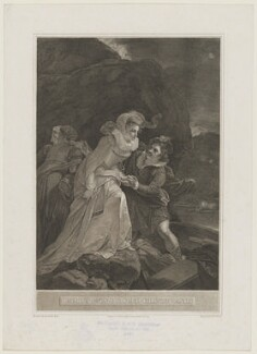 Q. Mary's Escape from Lochleven Castle (Mary, Queen of Scots), by William Sharp, after  Robert Smirke - NPG D13128