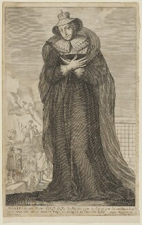 Mary, Queen of Scots, after Claude Vignon - NPG D13129