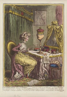 'Contemplations upon a coronet', by James Gillray, published by  Hannah Humphrey - NPG D12604