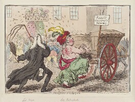 'Discipline à la Kenyon', by James Gillray, published by  Hannah Humphrey - NPG D12605