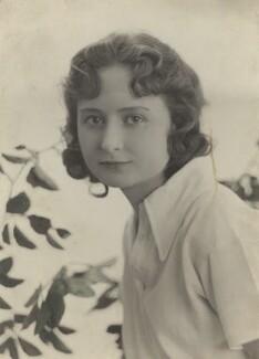 Lallie Charles Cowell (née Martin), by Rita Martin - NPG x125442