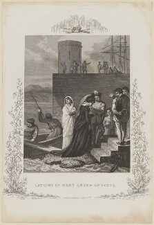 'Landing of Mary, Queen of Scots', by John Dadley, published by  Thomas Kelly, after  Robert Smirke - NPG D13132