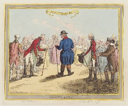 'The Esplanade', by James Gillray, published by  Hannah Humphrey - NPG D12615