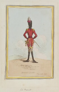 'Patern-staff. Weymouth 1797', by James Gillray, published by  Hannah Humphrey - NPG D12622