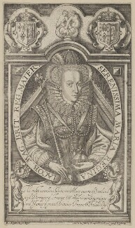 Mary, Queen of Scots, by Renold or Reginold Elstrack (Elstracke), after  Unknown artist - NPG D13178
