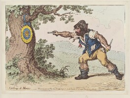 Charles James Fox ('Le coup de maitre'), by James Gillray, published by  Hannah Humphrey - NPG D12625