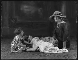Julian Orde; Jane Orde; Lady Eileen Orde (née Wellesley), by Bassano Ltd - NPG x37317